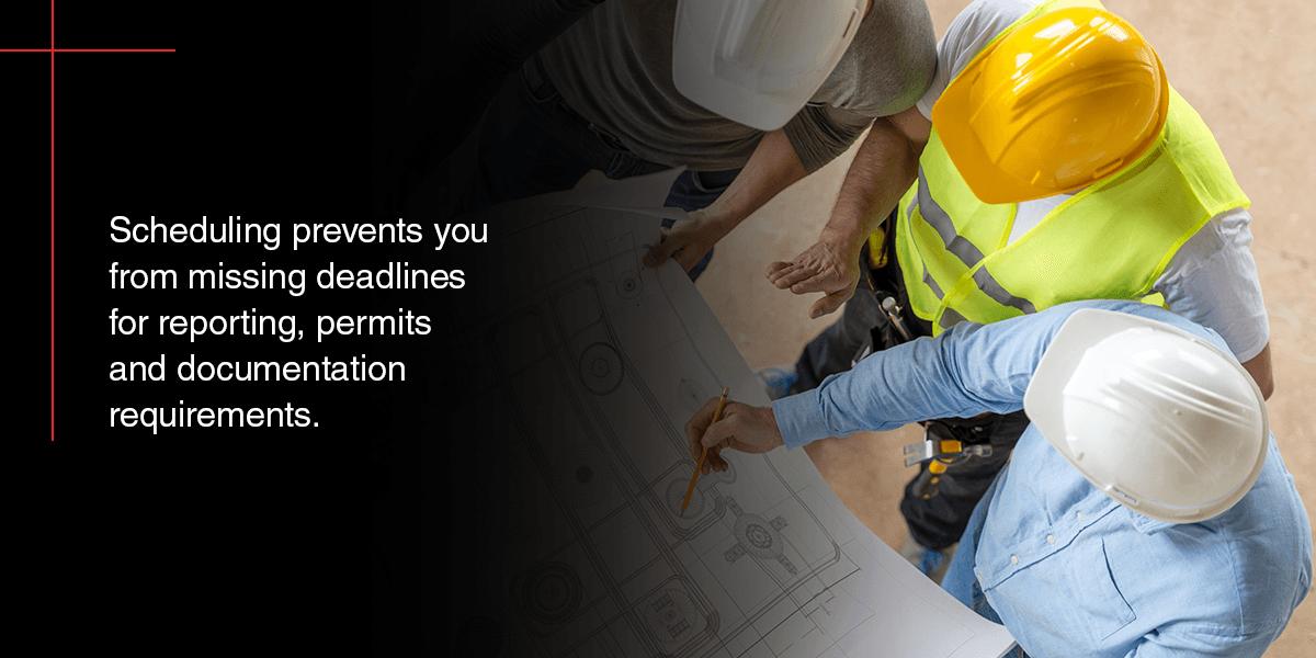 construction planning schedule
